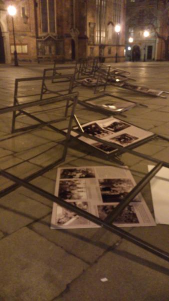 Próba zniszczenia wystawy