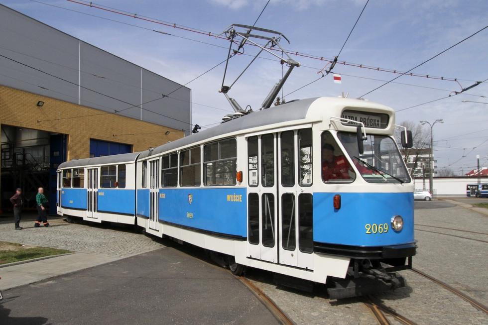 Kultowy tramwaj wrócił na wrocławskie tory